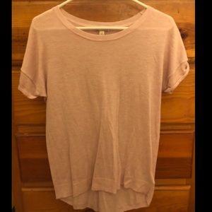 GAP soft, pale pink sweater tee